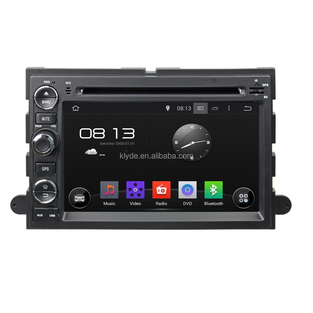 Klyde Android 5.1.1 Car radio 2din dvd player with navigation for Ford Fusion/Explorer/F150/ Edge/Expedition 2006-2009