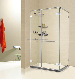 sliding glass bathroom equipment corner entry shower doors