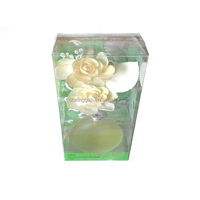 Natural,High-Quality Aroma Flower Diffuser Of Mini Glass Bottle In Air Fresheners
