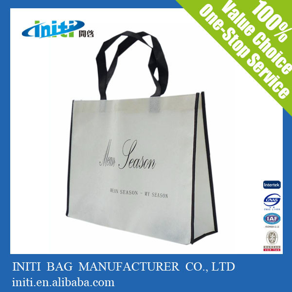 2015 alibaba made in china waterproof hand non woven bag for shopping