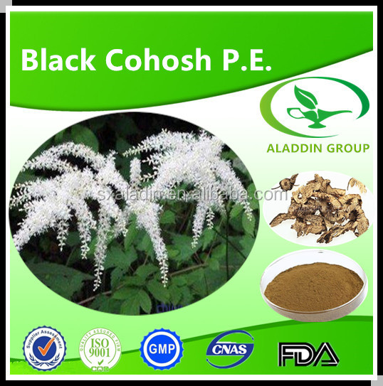 100%natural Black Cohosh P.e
