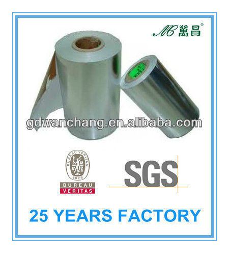 Many kinds of water-proof metalized label paper