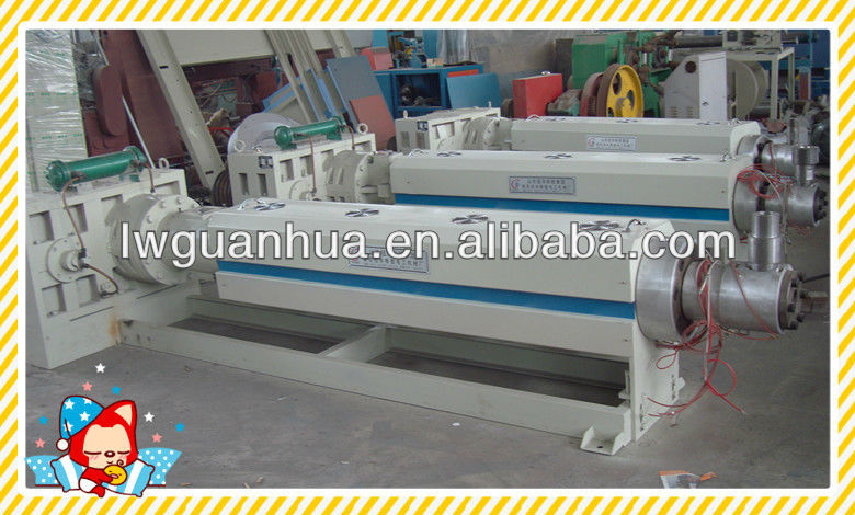 plastic waste recycle extrusion machinery