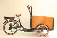 Bakfiets city electric cargo bike tricycle/kid bike/ bicycle for sale