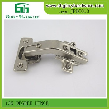 Top quality special concealed 135 degree glass door hinge