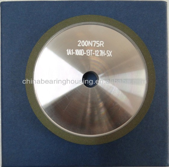 1A1 resin bond diamond wheel for carbide grinding