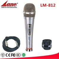 Lane dynamic vocal microphone metal case LM-812