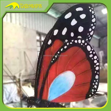 KANOSAUR1270 Zoo Decoration Animatronic Colorful Giant Butterfly