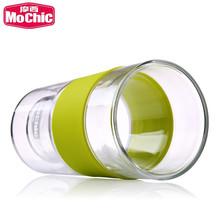 Mochic 12oz large lipton juice drinking glass cup