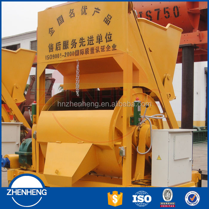 ISO Electric mini concrete cement mixture machine JDC350(12-17.5m3/h) from China direct supplier and factory