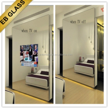 hair salon In-Mirror TVS , factory price Lighted mirror tv EB GLASS BRAND