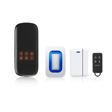 WIFI/GSM/GPRS wireless home security alarm system network video App control 50 home appliances burglar alarm