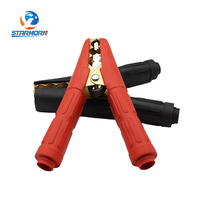 Professional supplier carbon steel insulated battery alligator clamps