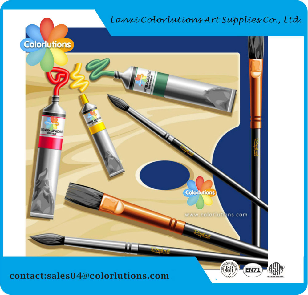 2015 colorlution good quality acrylic paint for children nontoxic