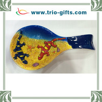 Porcelain spoon, ceramic spoon for home decorative