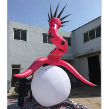 Outdoor / Indoor Advertisingn Model Decoration Flower Inflatable Giant Monster For Ocean Event A184