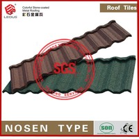 Recyclability Decorative Metal Roof Tile for Antique Building
