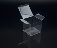 plastic clear custom gift boxes wholesale/gift packaging/square plastic box