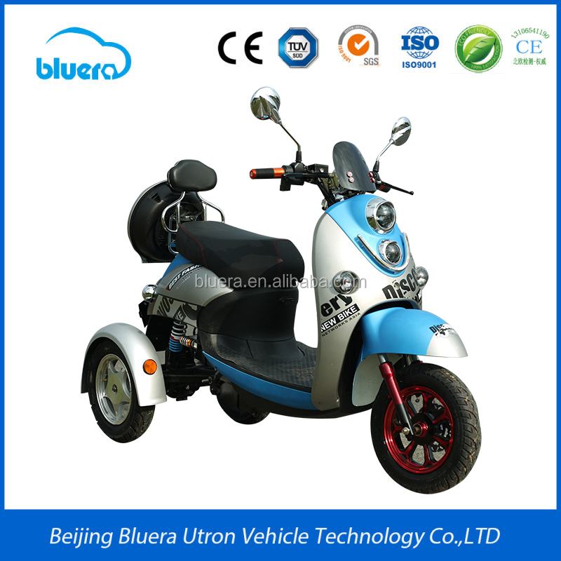 2017 New 3 Wheel Tricycle Motorcycle Electric Scooter