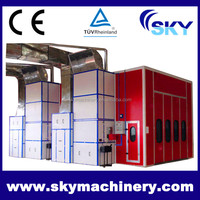 SB500, The Truck Spray Paint Booth water curtain booth