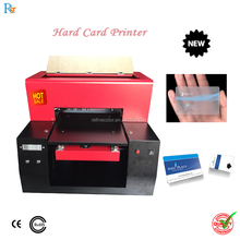 2017 new driver license card printer hard card uv inkjet digital printer pvc plastic id card printing machine price