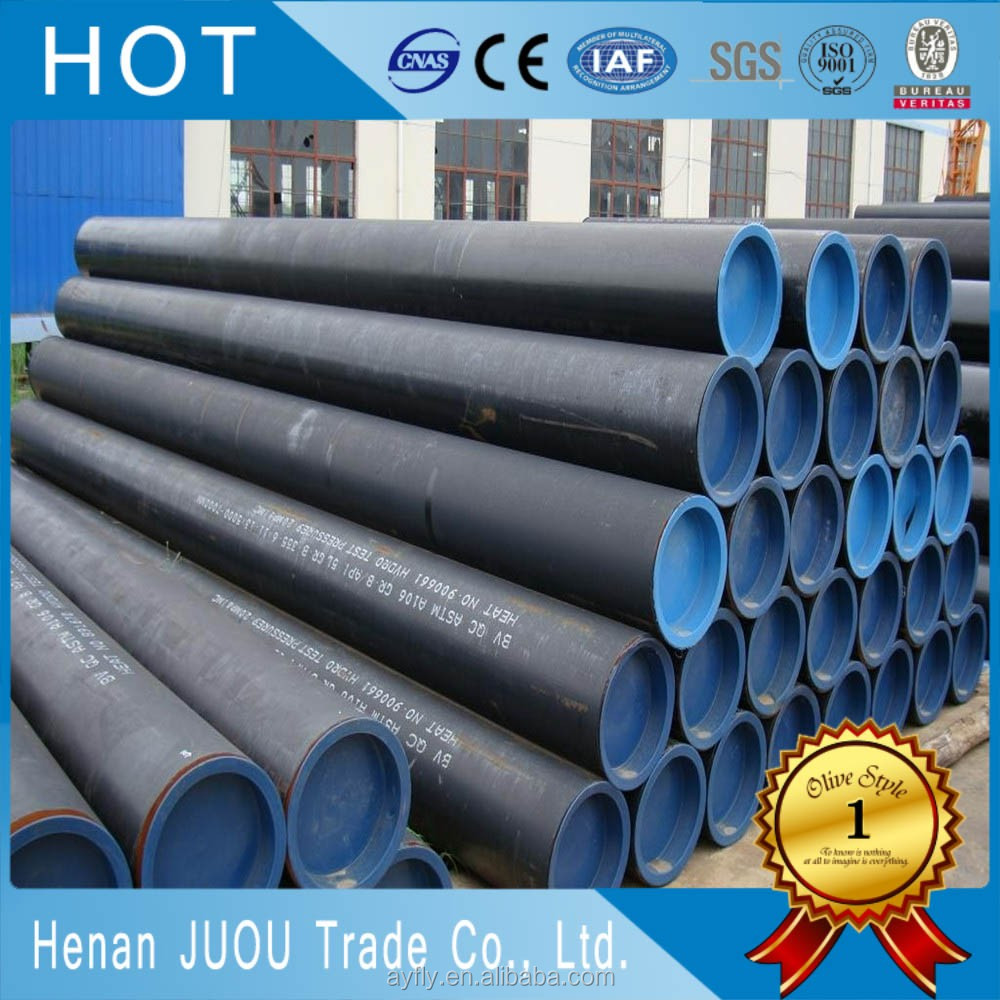 For natural gas pipeline asme b36.10m astm a106 gr.b seamless steel pipe