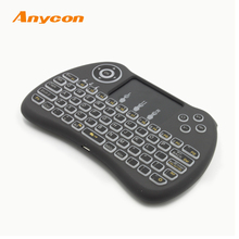 top sale Sleek and streamlined appearance design 2.4g mini fly air gyro mouse wireless keyboard