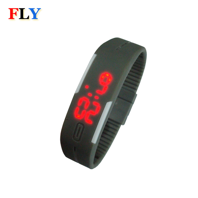 2017 hot selling cheap silicone LED watch RT5447 CE&ROHS standard
