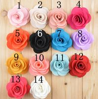 Wholesale Fabric Rose Flower For Shoes