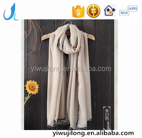 wholesale spring/summer ladies scarf fashion women hijab scarves Chinese supplier