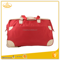 Quality duffle small trolley bag luggage with Wheels