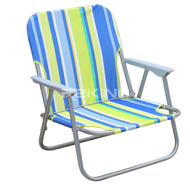 striped cheap folding beach chair