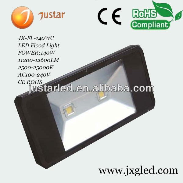 Best price high power Outdoor Waterproof 140 watt led flood light