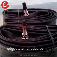 Black top-quality natrual rubber content 30%-45% motorcycle inner tube customized type for motorcycle