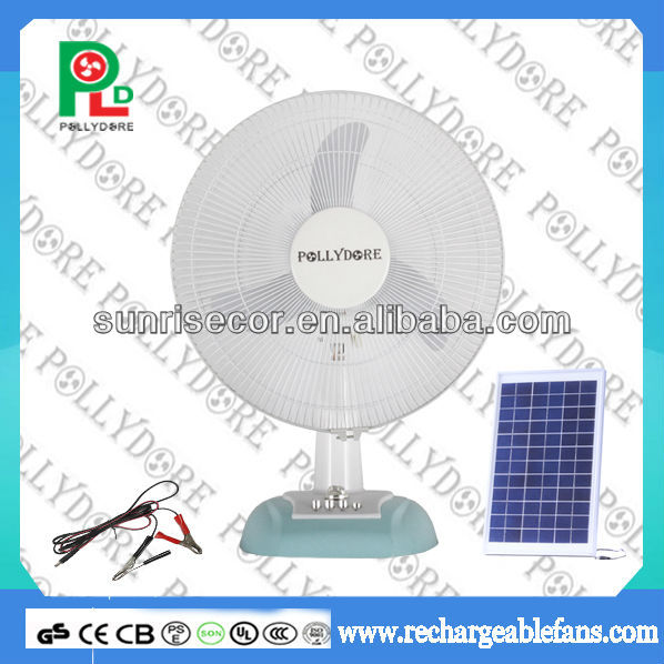 12v solar dc table fan solar powered fan with oscillating for 12v dc table fan price