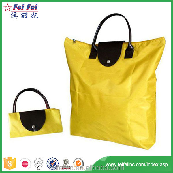 SEDEX/SGS China wholesale wallet reusable folding shopping bag