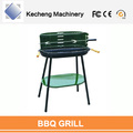 Factory Wholesale BBQ Grills Green colorful charcoal barbecue grills