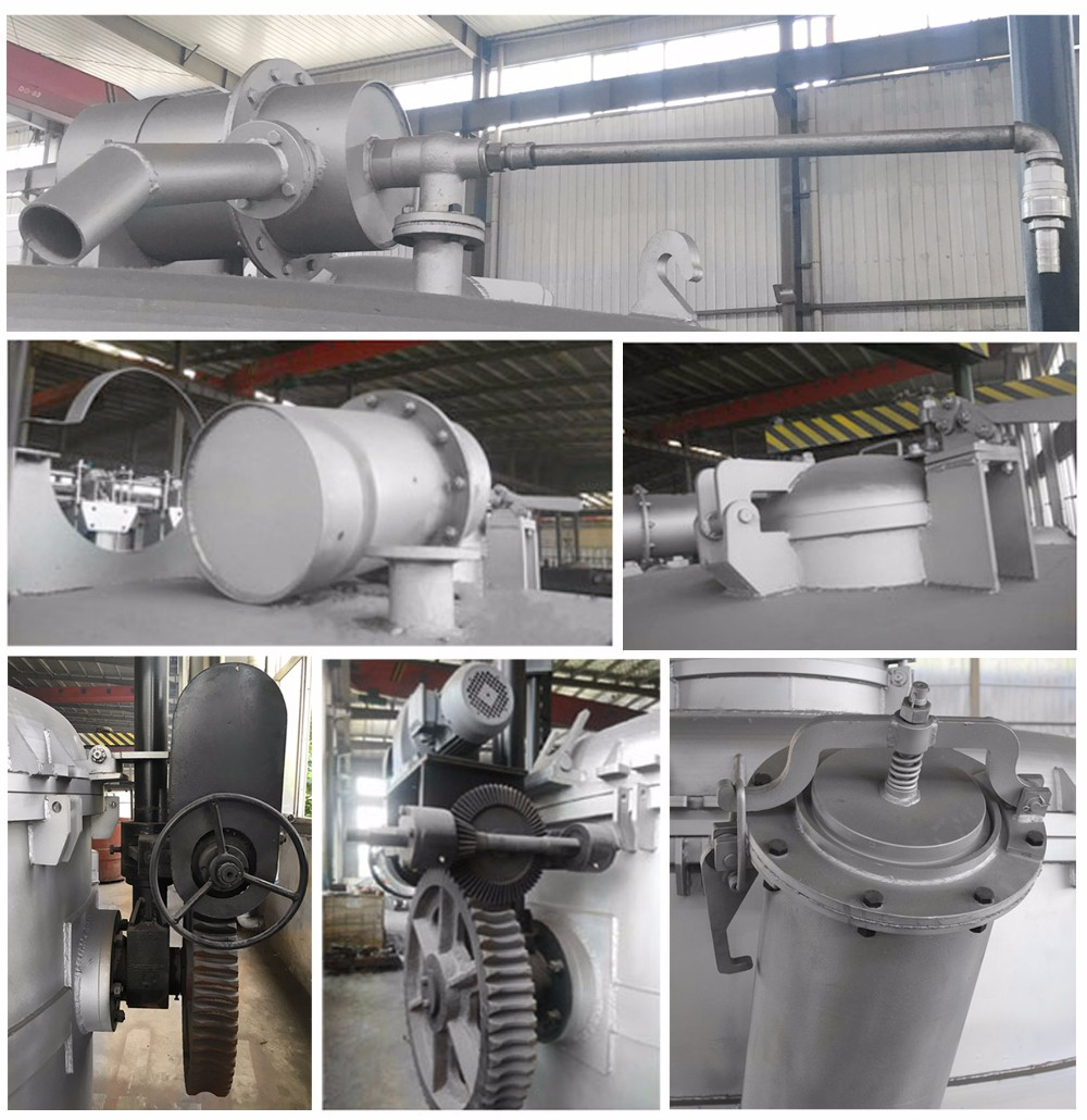 Rich Experience ISO Certificate 14T Aluminum Smelter Crucible for Foundry Industry