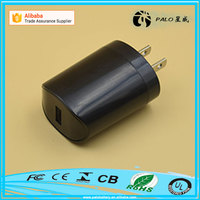 Wholesale factory price 5V 2.1A USB wall plug socket charger for Tablet