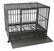 Stock feature and dogs application stronge stainless steel folding dog cage