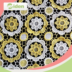 Polyester chemical lace fabric, Guipure lace embroidery lace fabric