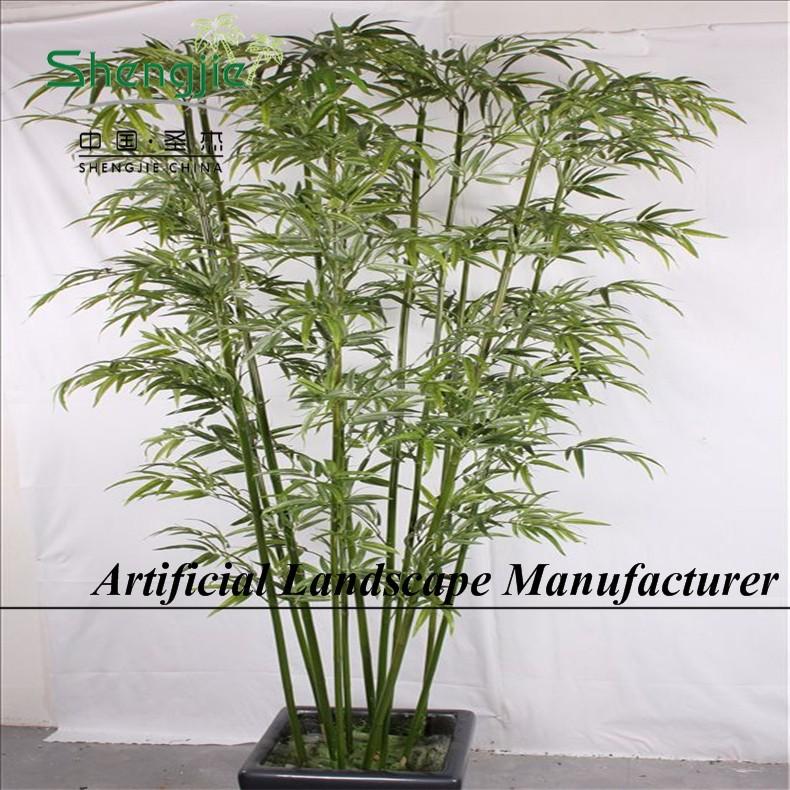 Sjyh12332 piante di bamb artificiali prezzo all 39 ingrosso for Cannette di bambu prezzo