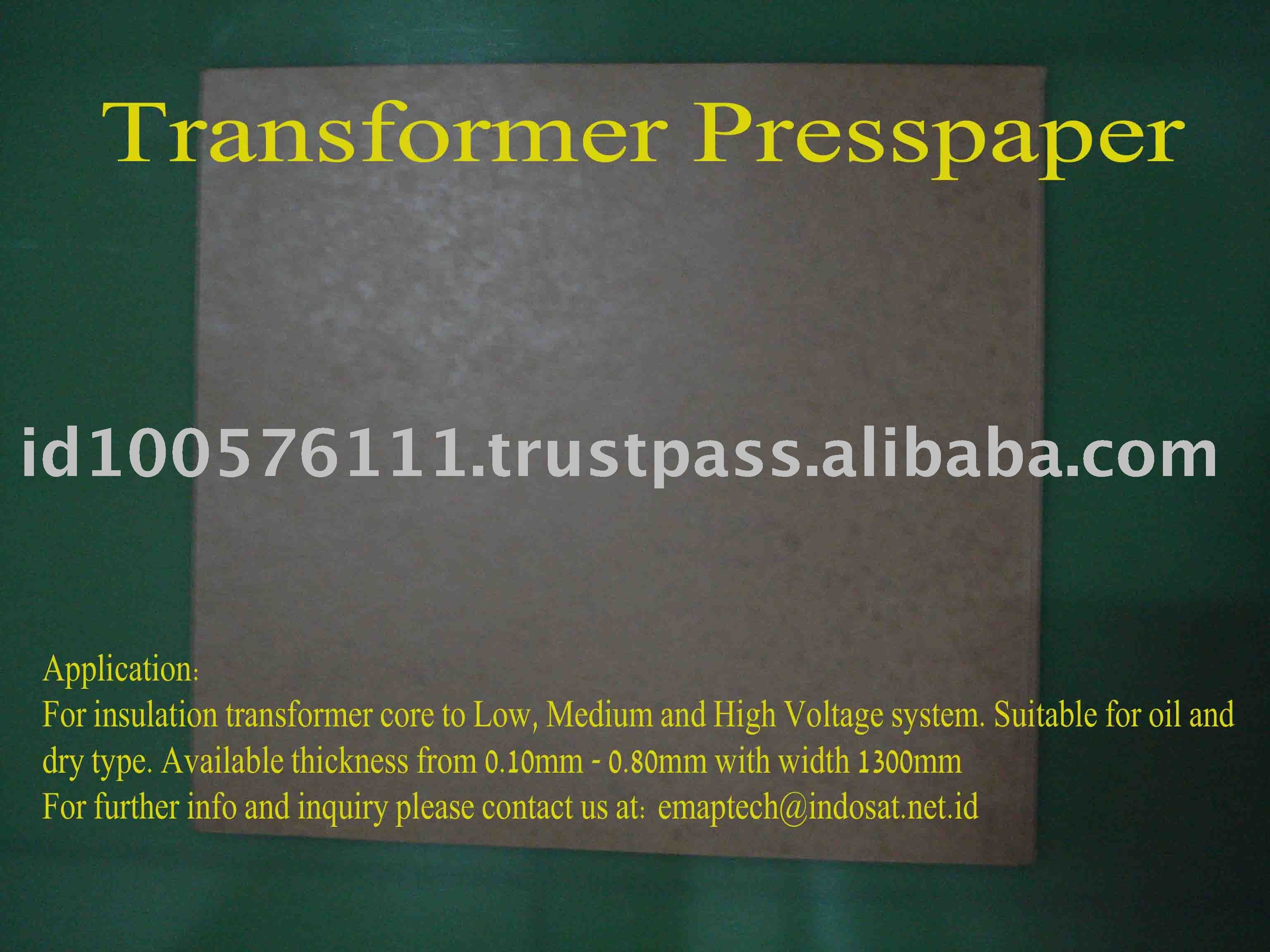 Insulation Transformers Paper