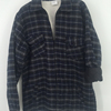 Mens Flannel Padded Sherpa Winter Warm Plaid Shirt