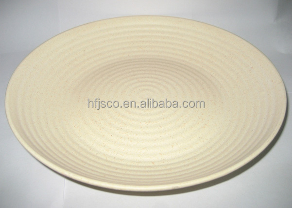 wholesale candy disposable bamboo fiber clutch household plate