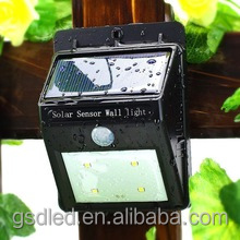 16 LED Outdoor Waterproof Lamp Solar Power Motion Sensor Garden Light