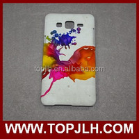 China phone case blanks 3d vacuum heat press printing sublimation for Samsung On5