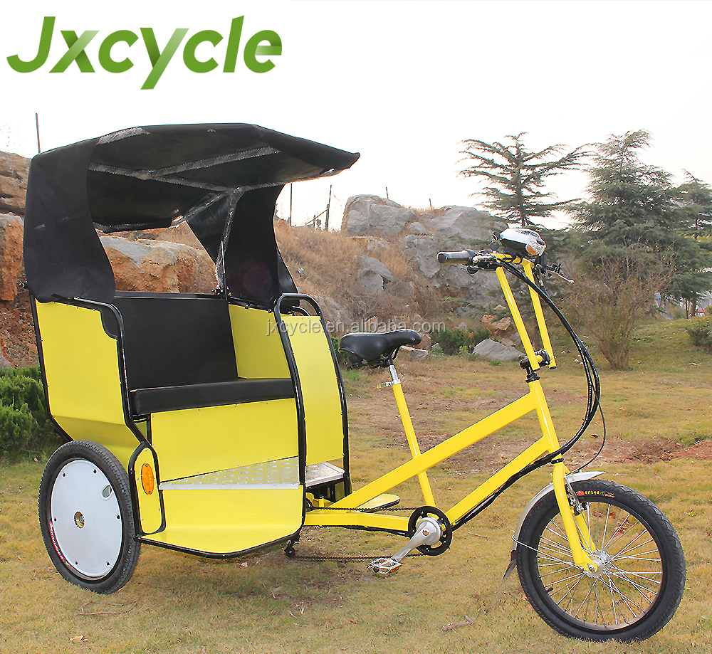 Hot sale use 3 wheel bicycle taxi pedicab trailer/rickshaw