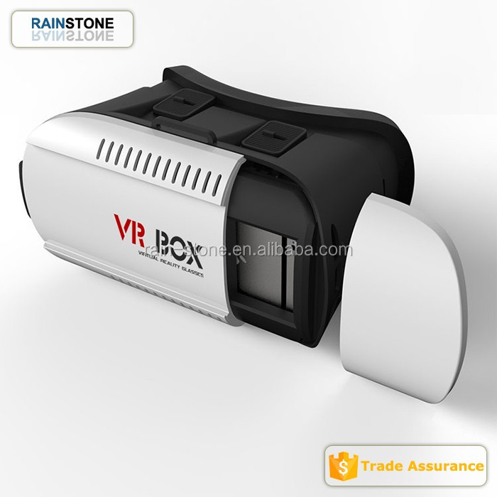 2017 Trending products New Google Cardboard VR Box Version Virtual Reality 3D Glasses for Game Movie 3.5-6.0 Smart
