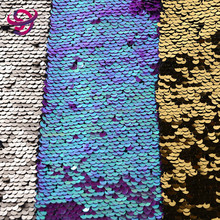 new design hot sale polyester spandex knitted cheap glitter sequin lace fabric